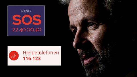 Kirkens SOS på nummer 22 40 00 40. og Mental Helse på nummer 116 123 får økte bevilgninger på 10 millioner kroner etter Ari Behns bortgang.