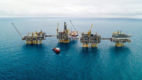 OLJERIKDOM: Gigantfeltet Johan Sverdrup startet olje- og gassproduksjonen 5. oktober. Stadig flere unge er positiv til oljen i ny undersøkelse.