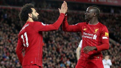 NIKE NESTE ÅR: Mohamed Sahal og Sadio Mané spiller i Nike-drakter neste sesong.