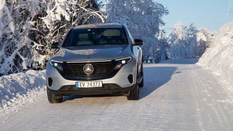 Vi har sett hva som skjer når Mercedes' elbil EQC 400 møter norske vinterforhold.