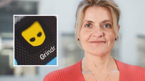 PERSONVERN: Datingappen Grindr er i hardt vær på grunn av omfattende innsamling og bruk av brukernes persondata. Det er Forbrukerrådet og direktør Inger Lise Blyverket som står bak avsløringen.