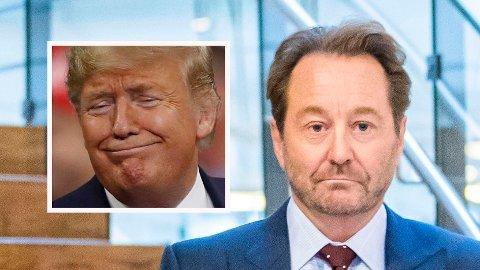 KAN TAKKE TRUMP: Kjell Inge Røkke kan takke Donald Trump og Kina for at Rec-aksjen eksploderer på børs torsdag.