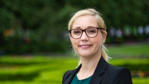 FORSVINNER IKKE: Utfordringene forsvinner ikke om man fjerner kontantstøtten, mener 1. vara Karoline Grosås Nordbø for Oslo KrFs bystyre.