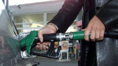 MINDRE BENSIN: Vi bruker mindre penger på bensin.