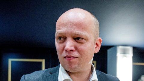 REAGERER: Leder i Senterpartiet, Trygve Slagsvold Vedum, reagerer på at staten brukte over 7,8 milliarder kroner på konsulenter i fjor.