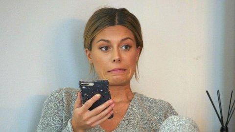 RØPER SEG: Bianca Ingrosso innrømmer at hun plumper ut med detaljer fra sitt private forhold.
