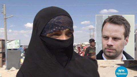 KREVER SVAR: Stortingsrepresentant Jon Engen-Helgheim (Frp) krever svar om den terrorsiktede IS-kvinnen.