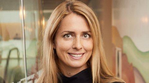 NY SJEF: Helena Helmersson i H&M.