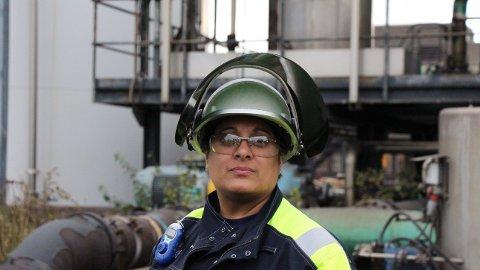 Era Kapilashrami er SSABs produksjonsdirektør for metaller i Oxelösund, sørvest for Stockholm.