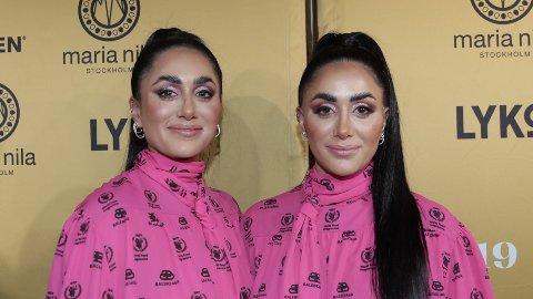 NYSINGEL: Wanda Mashadi fikk god støtte av søsteren Vita Mashadi ettr bruddet med kjæresten. Fredag kveld dukket de opp på den røde løperenunder VIXEN Awards.