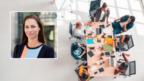 Mange starter i dag som konsulenter og leier seg ut til større selskap - en dyrebar erfaring som kan være inngangen til drømmejobben. - Bare husk å ta vare på fremtidige deg, råder Cecilie Tvetenstrand (innfelt).