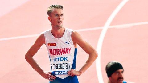 I GANG MED SESONGEN: Filip Ingebrigtsen startet sesongen i Tyskland tirsdag kveld.