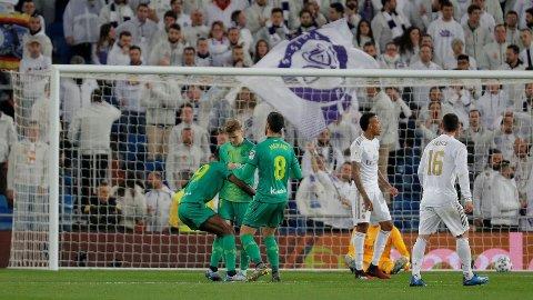INGEN FEIRING: Martin Ødegaard valgte å ikke feire sitt mål mot Real Madrid.