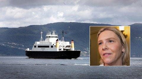KRAV: Frps nestleder Sylvi Listhaug ber regjeringen om å legge til rette for billigere ferge.