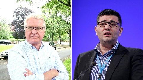 Tidligere Oslo-ordfører Fabian Stang (H) mener Mazyar Keshvari (tidligere Frp) blir nektet det han har krav på.