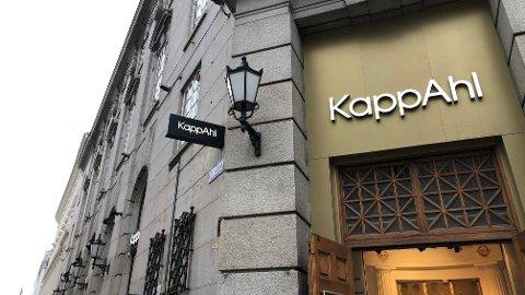 STENGER: Kappahl på Karl Johan stenger dørene innen 1. mars.