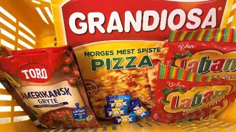 OPP I PRIS: Flere av matvarene i ukens handlekurv har blitt mye dyrere sammenlignet med fjoråret.