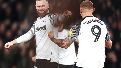 Wayne Rooney og Martyn Waghorn har levert varene for Derby den siste tiden.