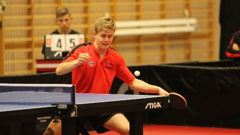 KJEMPETALENT: 17 år gamle Borgar Haug er regjerende NM-mester og spiller allerede på landslaget.