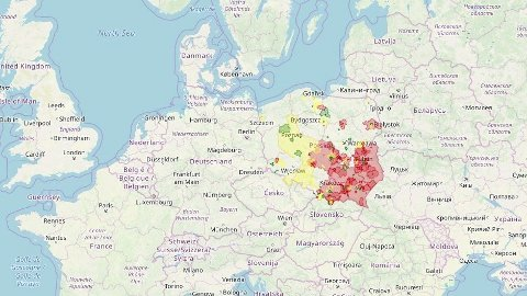 LHBT-FRI: En tredel av Polen har nå gjort det offisielt med intoleranse for lesbiske, homofile, biseksuelle og transseksuelle.