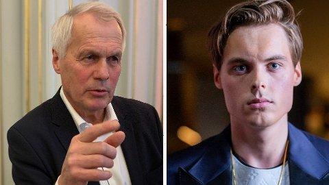 FAR OG SØNN: Gustav Witzøe har overdratt verdiene til sønnen Gustav Magnar. Nå truer faren med å flytte virksomhet ut av Norge.