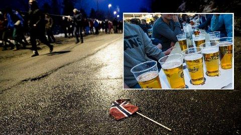 FRYKTER KOLLEN-TILSTANDER: KrF-politiker frykter at mer alkohol på fotballarenaer vil skape tilstander slik vi så i Holmenkollen i 2018.
