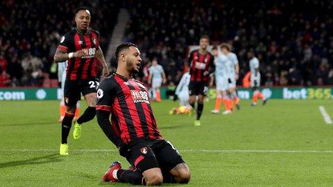 Joshua King scoret to av målene da Bournemouth knuste Chelsea med 4-0 hjemme på Vitality Stadium i fjorårssesongen.