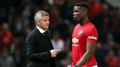SNART TILBAKE: Paul Pogba skal nærme seg comeback på banen. Manchester United-manager Ole Gunnar Solskjaer kan få franskmannen tilbake i spill tidligere enn først antatt.