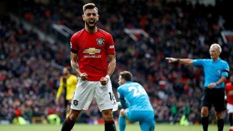UMIDDELBAR SUKSESS: Bruno Fernandes har tatt Manchester United med storm.