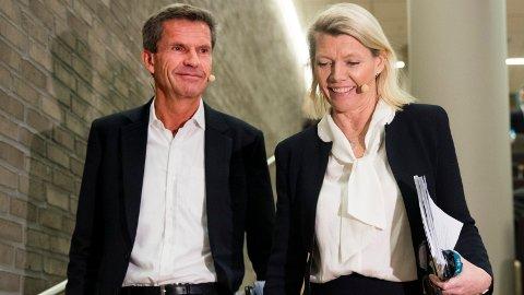 BEST BETALT: Ottar Ertzeid har i mange år vært den best betalte i DNB, nå har han overtatt stillingen til den nye konsernsjefen Kjerstin Braathen.