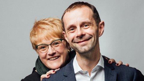 Hallstein Bjercke har vært Trine Skei Grandes nære allierte i 20 år.