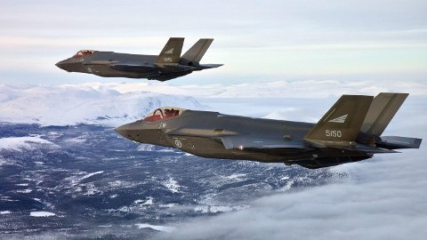 F-35: Klimaversting nummer én.
