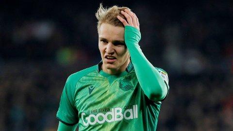 MØTER BARCELONA: Martin Ødegaard kan fort få en hovedrolle i møtet mot Barcelona.