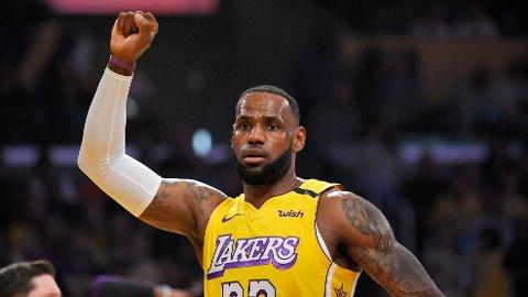 NEKTER: LeBron James vil ikke spille, hvis NBA går inn for tomme tribuner.