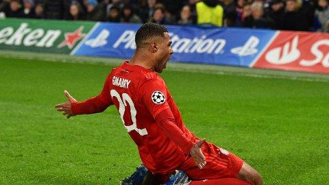 Serge Gnabry er en av formspillerne hos Bayern München og han scoret blant annet to av målene da Bayern München slo Chelsea 3-0 på Stamford Bridge i Champions League for et par uker siden.