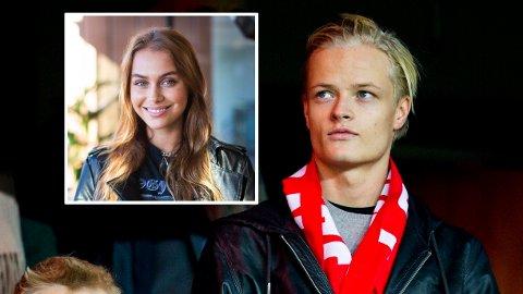 GRAVIDITETSRYKTER: Juliane Snekkestad åpner opp om graviditetsrykter og forteller hvordan hun møtte kjæresten, Marius Borg Høiby.