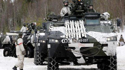 AVLYSER: Finnene har allerede trukket seg. Nå har Forsvaret besluttet at det ikke blir noen Cold Response-øvelse i Troms og Finnmark.