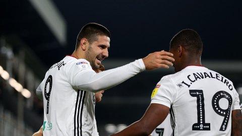 Aleksandar Mitrovic er Fulhams toppscorer denne sesongen.
