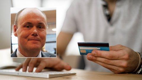 ADVARER: Svindelekspert Andreas Nordbø i Danske Bank advarer mot nye typer svindel i forbindelse med koronakrisen.