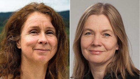 FÅR NEI: MDGs politiker Anne Hilde Røsvik (t.v.) forklarer at MDG sier nei til den midlertidige varaordføreren. – Dette handler ikke om politikk, men beredskap, sier Hanne Børrestuen fra Ap (t.h.).