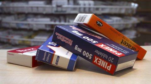 SMERTESTILLENDE: Legemiddelverket følger ikke WHO sine råd om bruk av medikamenter som inneholder ibuprofen.