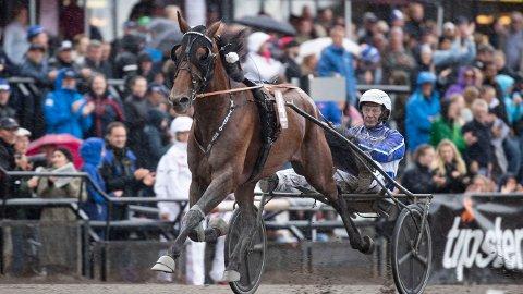 Jorma Kontio er aktuell i lørdagens V75-omgang. foto_Roger Svalsrød_hesteguiden.com