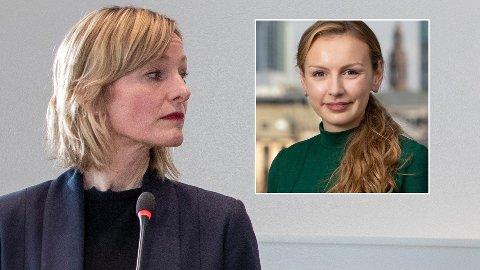 FÅR KRITIKK: Skolebyråd Inga Marte Thorkildsen (SV) får dårlige skussmål fra Silje Lutro og Høyre..