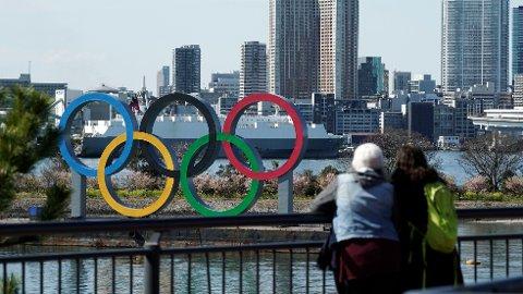 OL?: Sommer-OL skal etter planen arrangeres i Tokyo mellom 24. juli og 9. august.