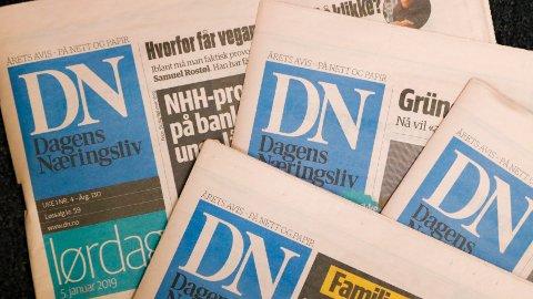 Dagens Næringsliv permitterer 19 ansatte innen reklame og administrasjon. Foto: Stian Lysberg Solum / NTB scanpix