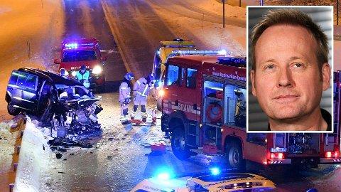 ULYKKE: Den 36 år gamle yrkessjåføren som kolliderte med artisten Sigvart Dagsland og bandet hans for snart to år siden er dømt til 45 dagers fengsel. Foto: Scanpix