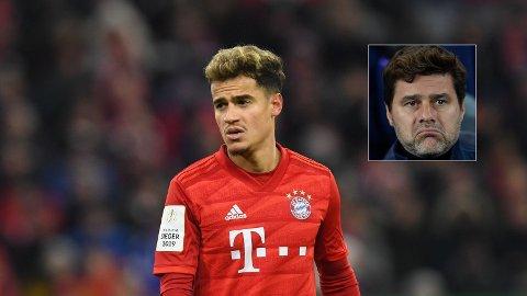 - SA NEI: Det hevdes at alt lå til rette for at Phillipe Coutinho skulle bli Tottenham-spiller, men så satte Mauricio Pochettino foten ned.