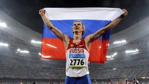 DOPINGMISTENKT: Andrej Silnov tok OL-gull i 2008. Han er nå mistenkt for doping.