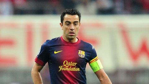KLUBBLEGENDE: Xavi Hernández ønsker å bli Barcelona-trener en gang i fremtiden.