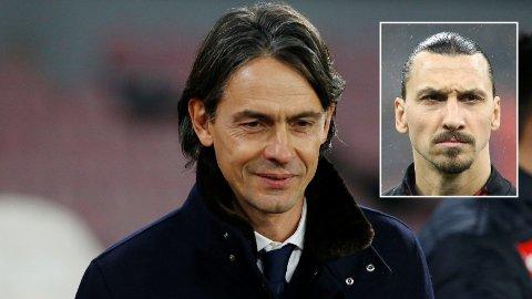 - LØSNINGEN: Filippo Inzaghi mener at Zlatan er løsningen på AC Milans spesielle «forbannelse».